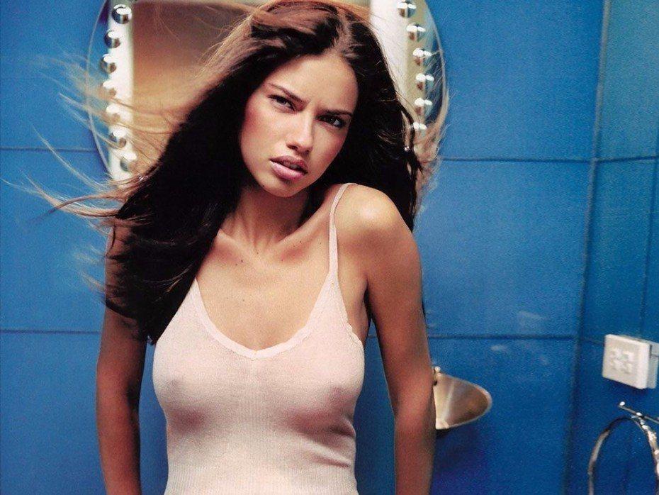 Adriana Lima Nude Topless