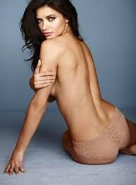 Adriana Lima Sexy Topless Photo