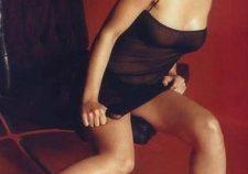 Alyssa Milano Topless Boobs See Through