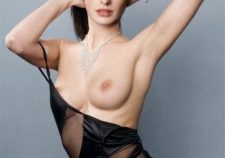 Anne Hathaway Naked Sexy White Boobs Nipples Images