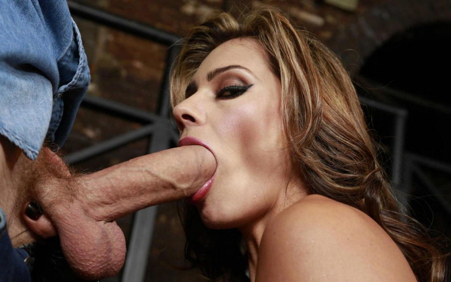 Big Tits Sucking Dick
