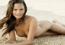 Chrissy Teigen Nude On The Beach