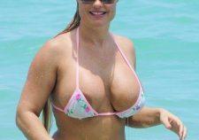 Coco Austin Nude Big Tits And Nip Slip