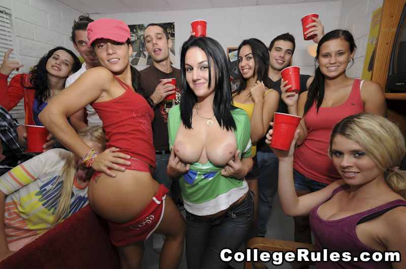 College Rules Sorority Girls Get Down
