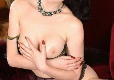 Dita Von Teese Nude Natural Boobs