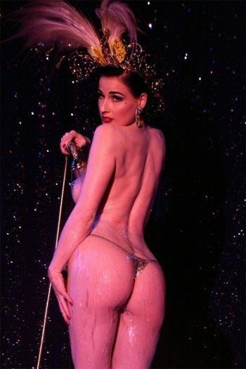 Dita Von Teese Nude Topless Hot Ass In Thong