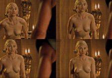 Emilia Clarke Naked Topless Sex Scene