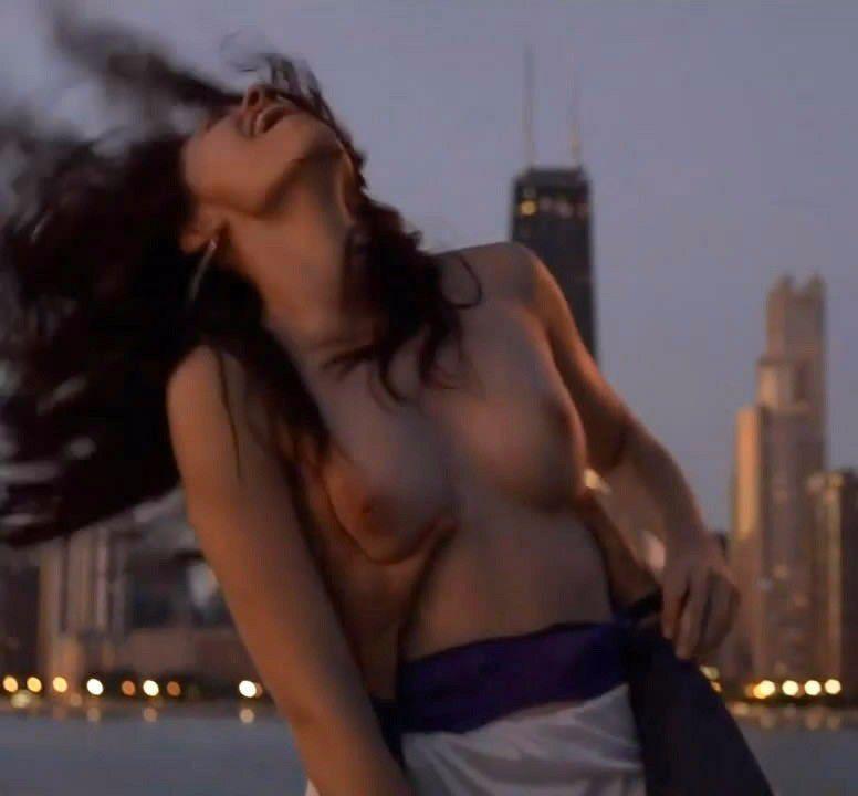 Emmy Rossum Nude Sex Scenes Sexy Big Natural Boobs