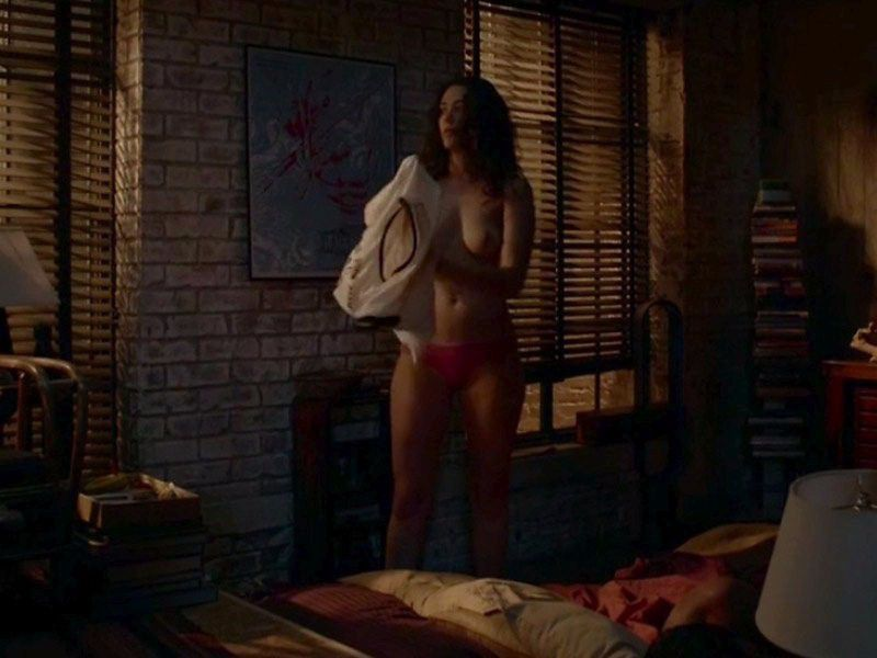Emmy Rossum Topless Nude Large Tits Scenes