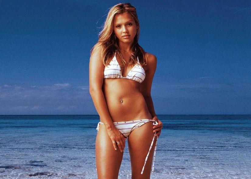 Jessica Alba Bikini Wallpapers