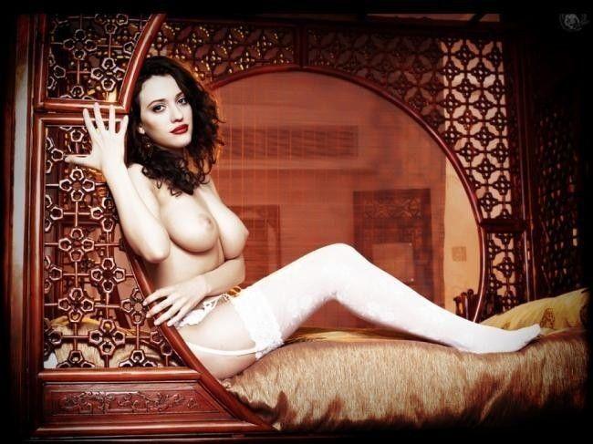 Kad Dennings Sexy Naked Celebs Topless