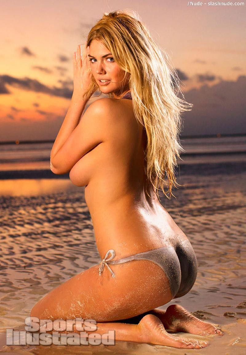 Kate Upton Nude In Bodypaint