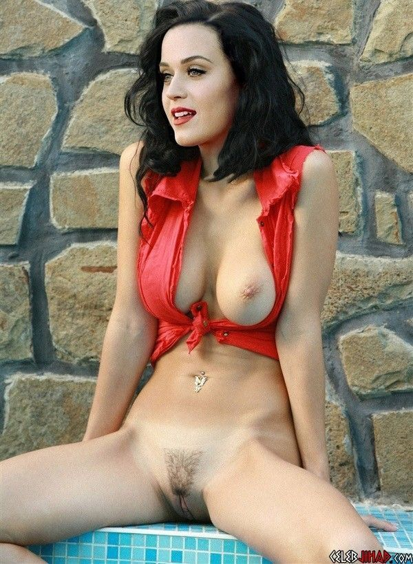 Katy Perry Naked Pool