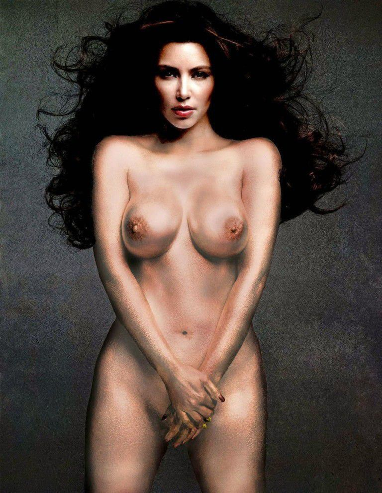 Kim Kardashian Nude Big Areolas