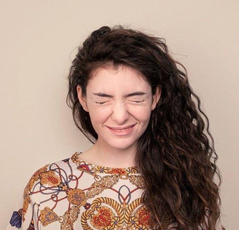 Lorde Smiling
