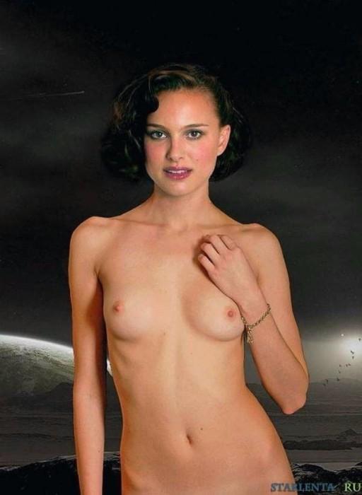 Natalie Portman Nude Topless Small Tits