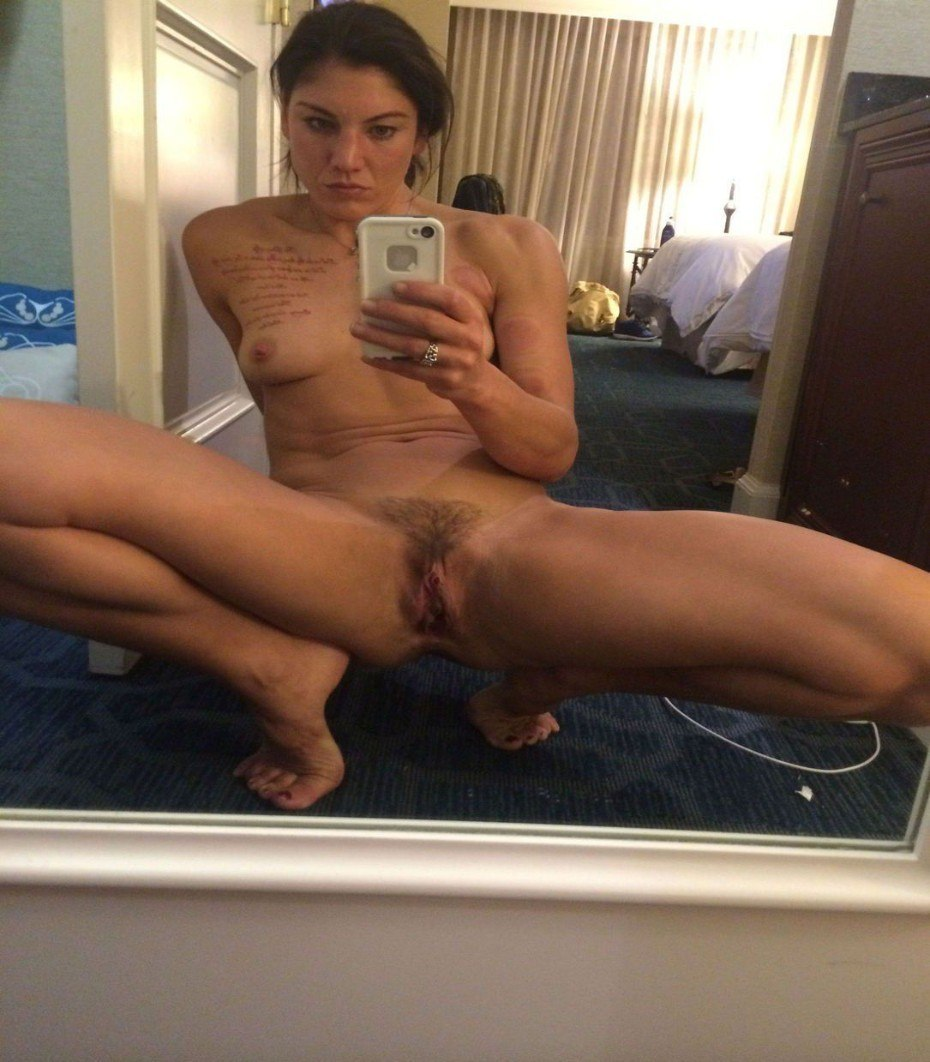 Nude Hope Solo Boobs Selfie
