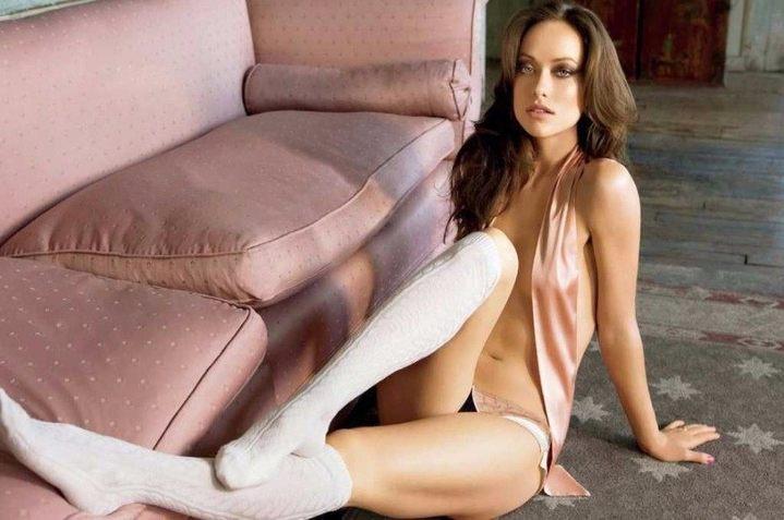 Olivia Wilde Nude Topless Sexy Legs