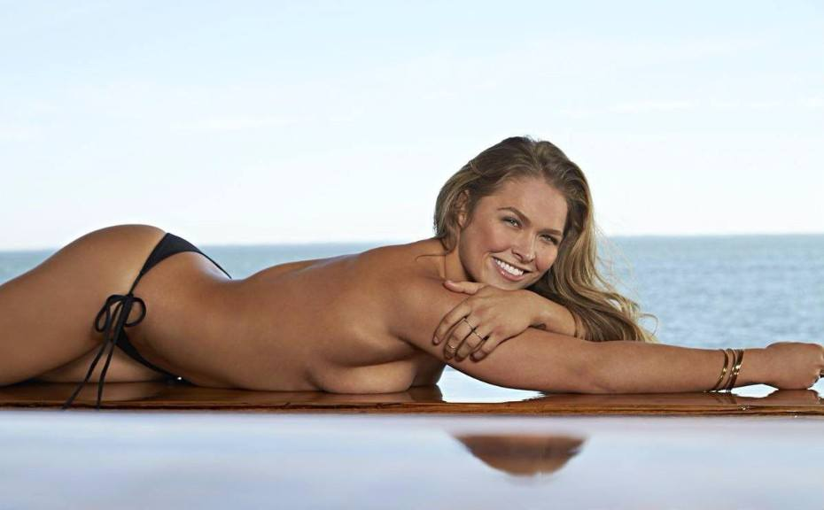 Ronda Rousey Nude Tits Naked Topless