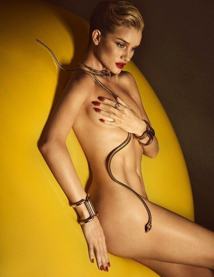 Rosie Huntington Whiteley Nude Photo Shoot