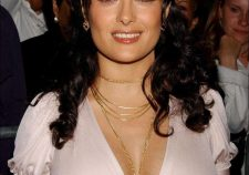 Salma Hayek Sexy Cleavage Leaked Photo