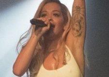Showbiz Rita Ora Nipples
