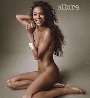 Zoe Saldana Nude Sexy Photo