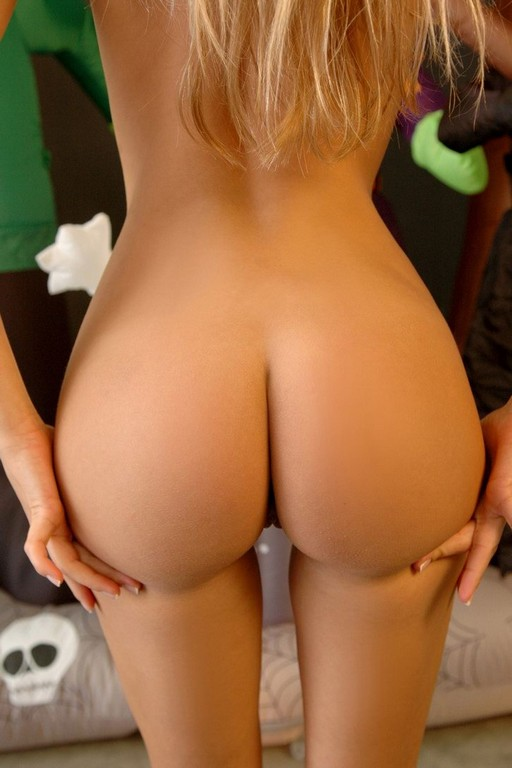A Nice Sexy Perfect Fine Ass Naked