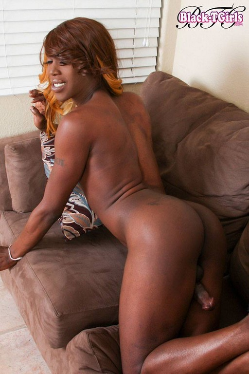 ebony Black cousin tgirl