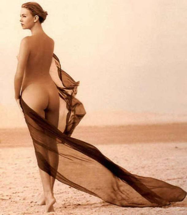 Charlize Theron Nude Playboy