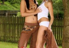 Cowgirl And Native American Lesbian Porn