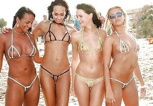 Crotchless Bikini