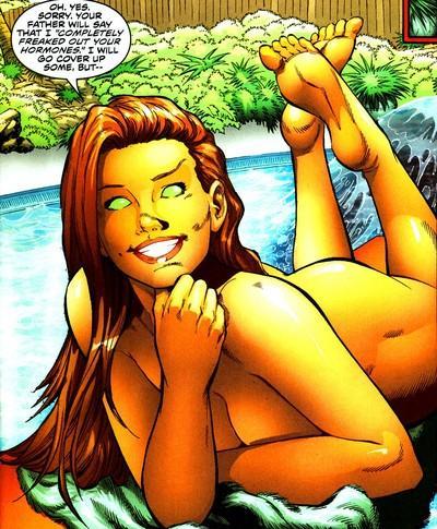 Dc Comics Starfire Sexy