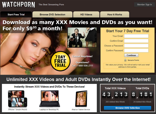 Was Porn dvd stream for free opinion