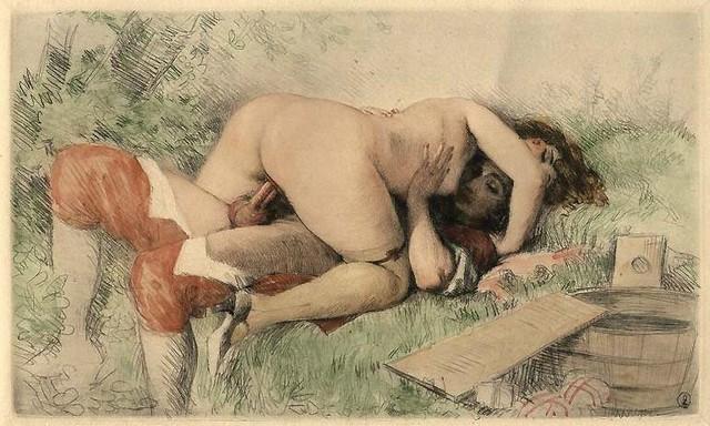 эротическое и порно ретро фото женщин
