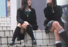 Japanese Schoolgirl Candid
