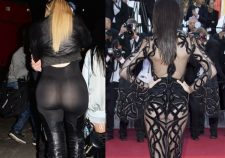 Khloe Kardashian And Kendall Jenner Flaunt Their Ass Cheeks In Public