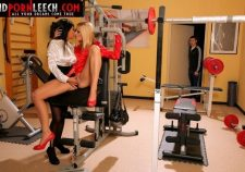 Lesbian Porn At The Gym