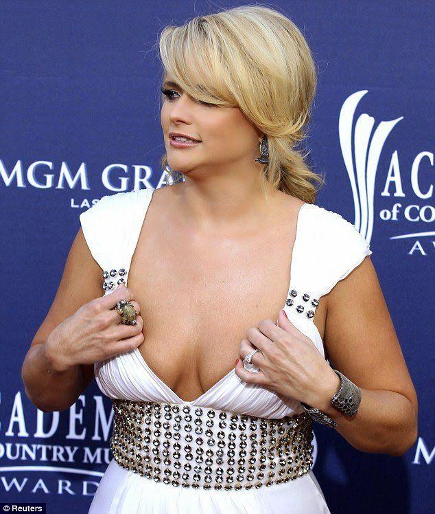 Miranda Lambert Wardrobe Malfunction