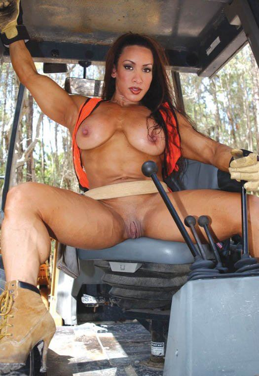 Something sexy girls naked on a tractor useful message
