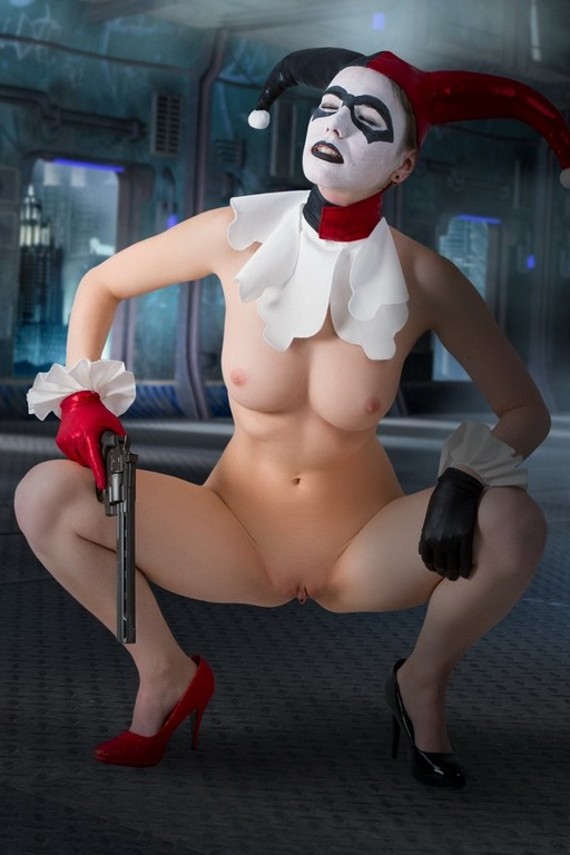 Harley quinn pussy naked