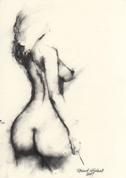 Nude Woman Figure Drawing