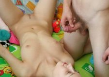 Petite Tiny Tits Tight Pussy Getting Fucked