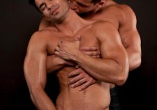 Romantic Gay Kiss Muscle