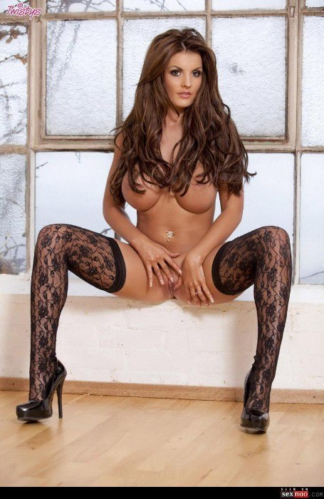 Sexy Stockings High Heels Big Tits