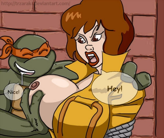 Teenage Mutant Ninja Turtles April O Neil Boobs
