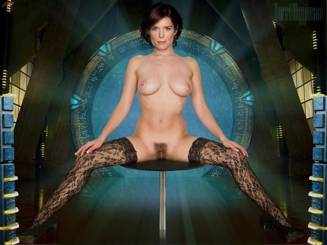 Torri Higginson Nude