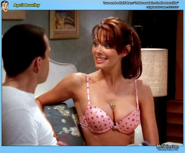 Two And Half Men April Bowlby Nude