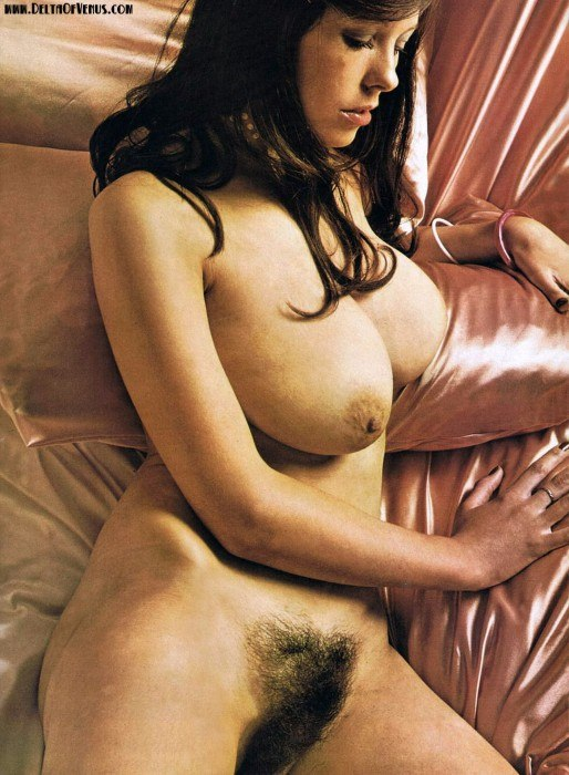 Vintage Busty Hairy Nude