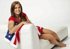 Alex Morgan Hot Feet